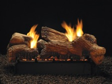 Stone River Ceramic Fiber Multi-Sided Gas Log Set