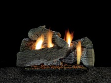 Wildwood Refractory Gas Log Set on Harmony Burner