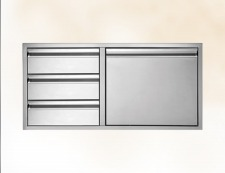 TEDD423-B Door/Three Drawer Combo